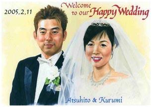 婚式のあとも、リビングに飾っておけるデザインがいい!